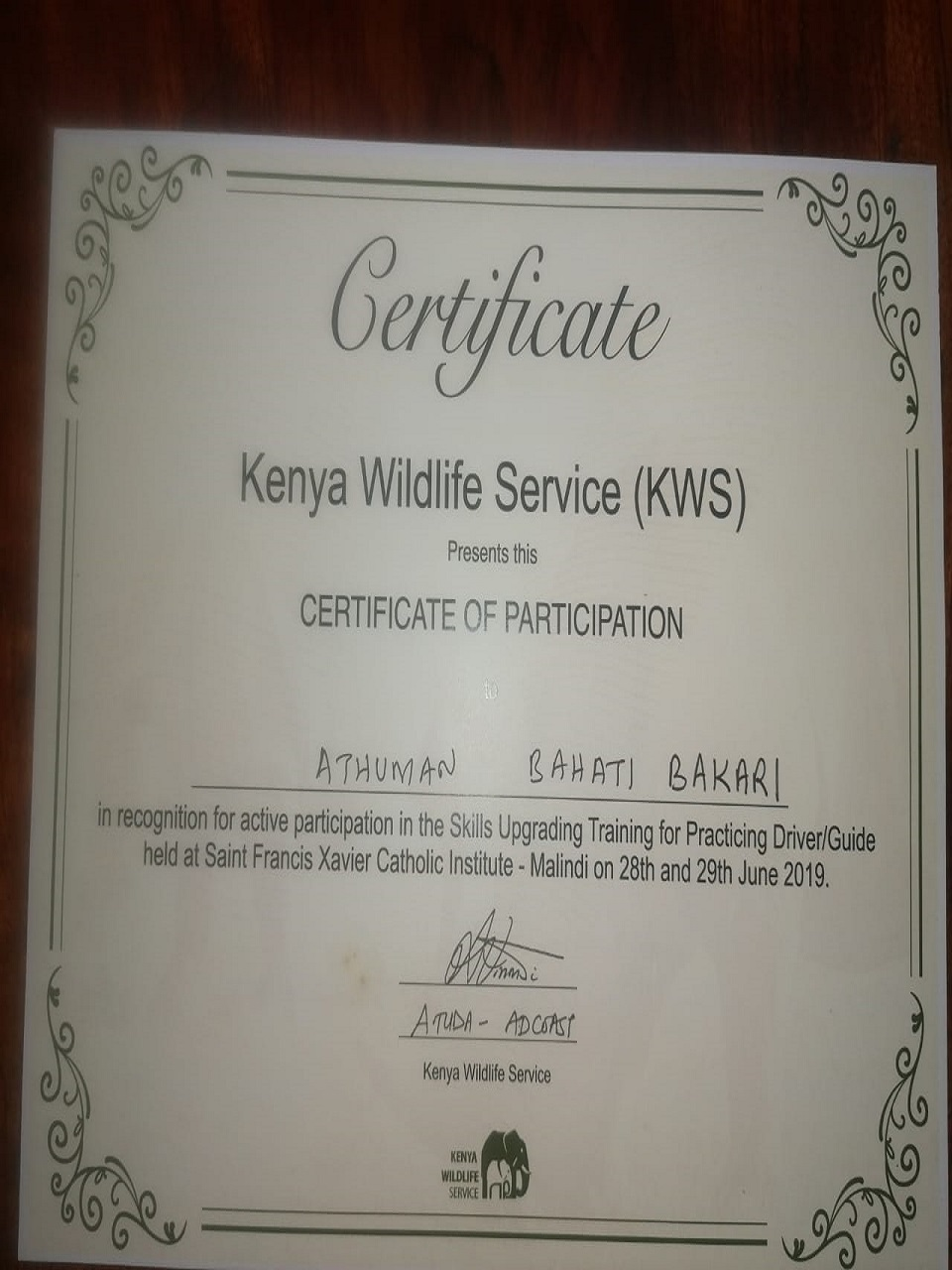 kenya5 1 - Safari Tsavo Est . 2 giorni