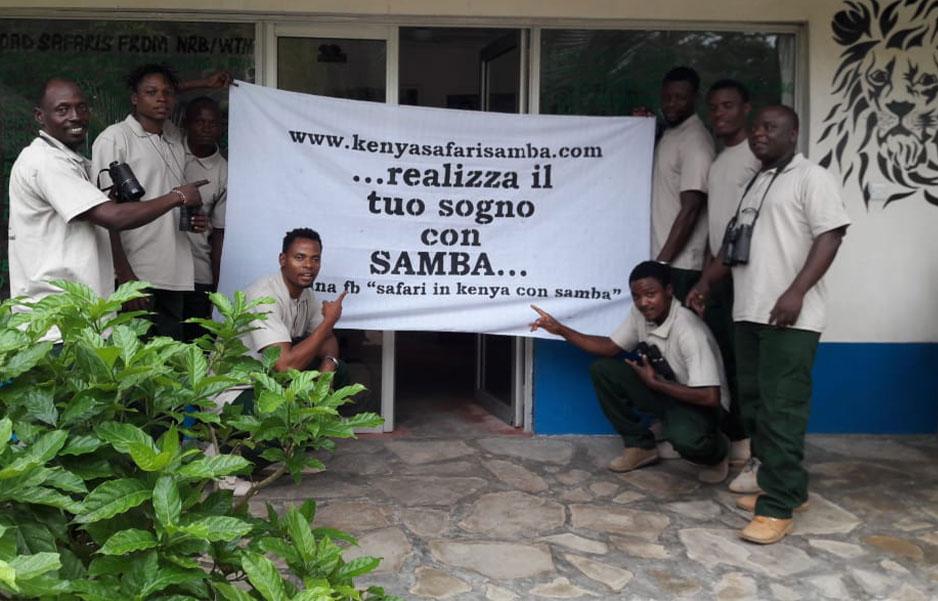 samba team 3 - Safari Kenya